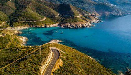 Cap Corse vue mer